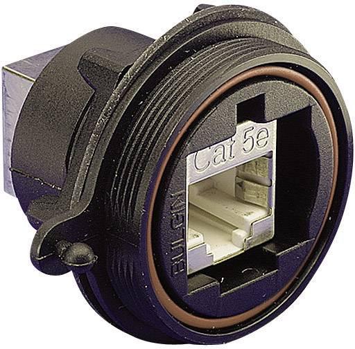 Zabudovateľný zástrčkový konektor pre senzory - aktory Bulgin PX0833, 1 ks