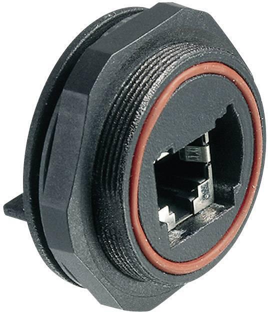 Zabudovateľný zástrčkový konektor pre senzory - aktory Bulgin PX0839/PC, 1 ks