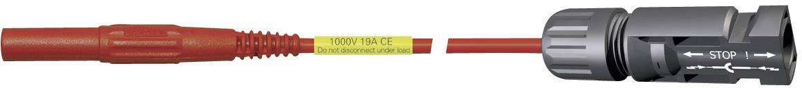 Adaptér MultiContact MC4 SI-4BU PV-AMLS4/150, červený