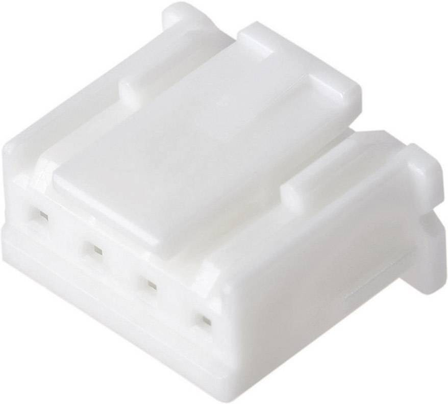 Zásuvkový konektor na kabel JST XAP-03V-1, pólů 3, kontakty v řadě 3, šířka: 6.9 mm, rastr (rozteč) 2.50 mm, 1 ks