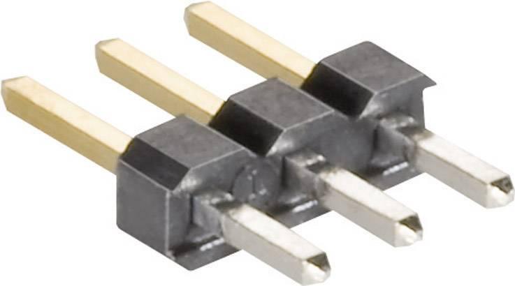 Pinová lišta MPE Garry STL12-0835-1,5GGT-003U, 1 x 3 pól., 2,0 mm, 6 x 2,0 x 8,35 mm