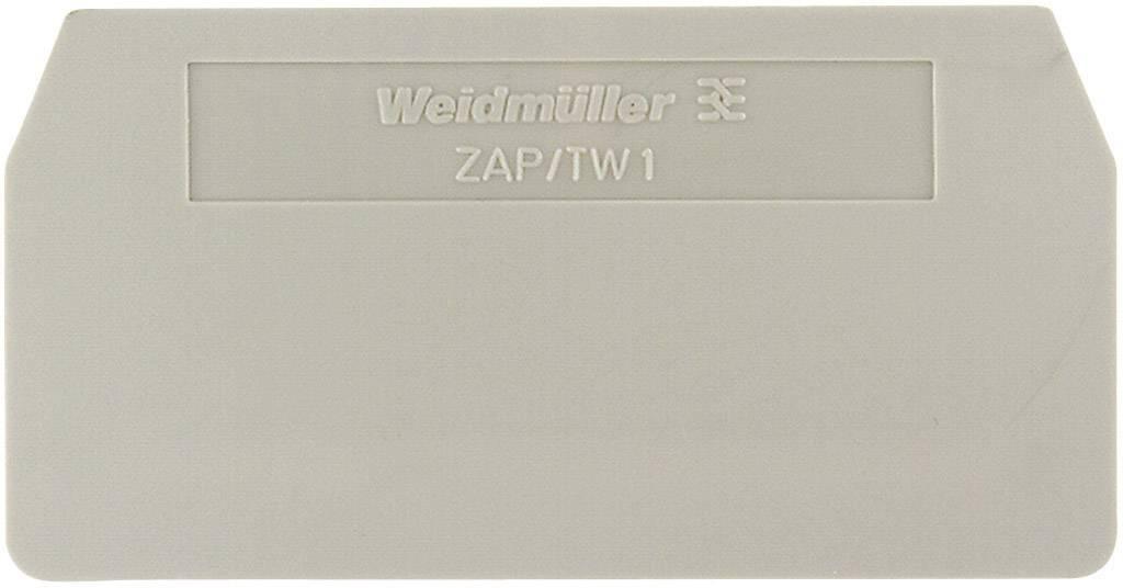 Koncová destička Weidmüller PAP 2.5/4/3AN (1896480000), béžová
