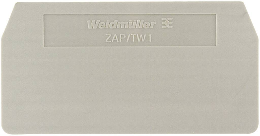 Koncová destička Weidmüller PAP PDU6/10/3AN (1896340000), béžová