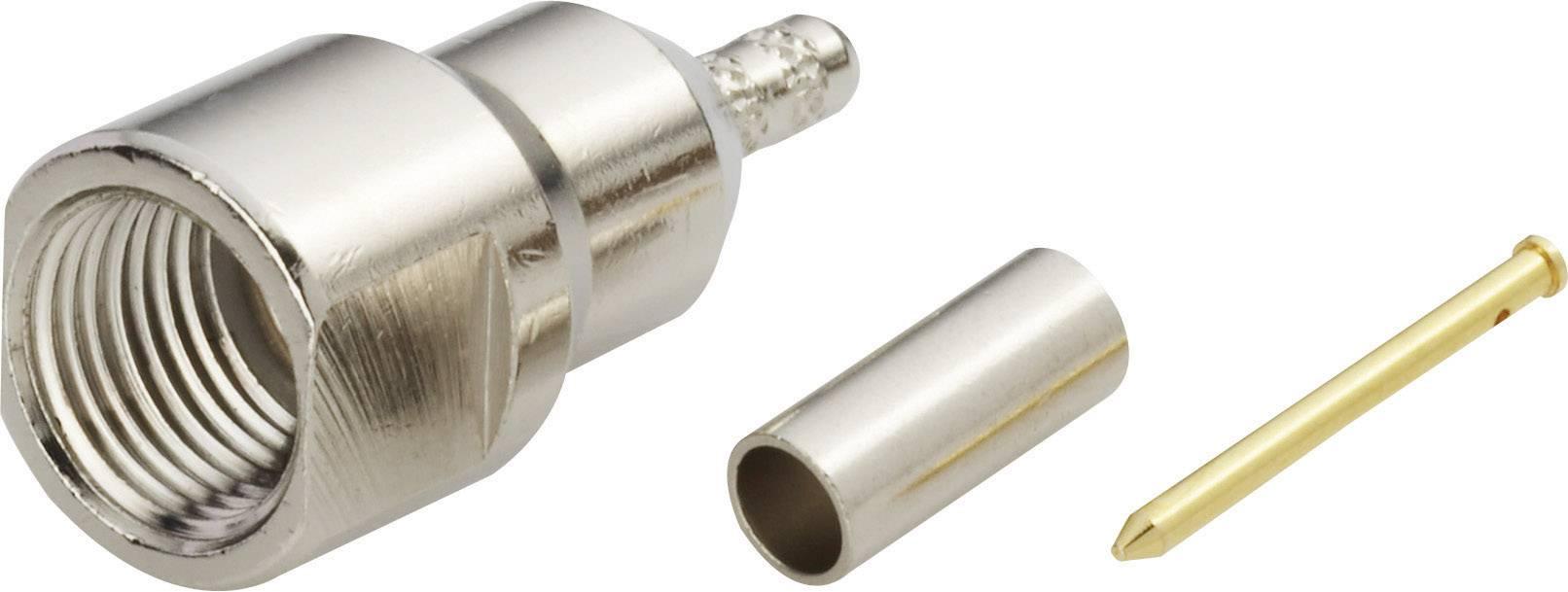 FME konektor zástrčka, rovná Amphenol FME1121B4-ND3G-5-50, 50 Ohm, 1 ks