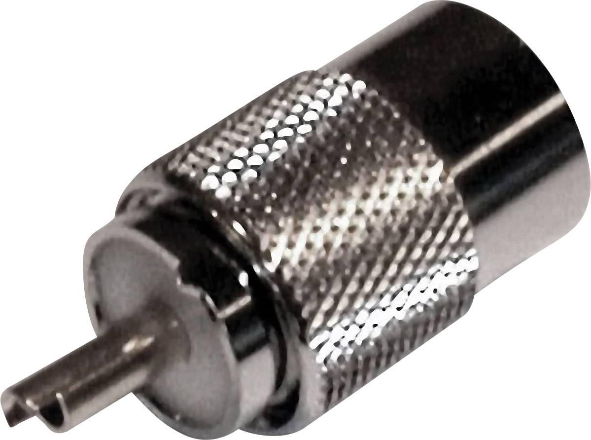 UHF konektor zástrčka, rovná BKL Electronic 50 Ohm, 1 ks