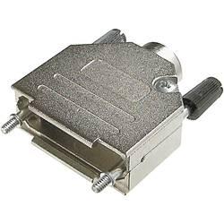 D-SUB púzdro ASSMANN WSW AMET-37 RS AMET-37 RS, Počet pinov: 37, kov, 180 °, strieborná, 1 ks