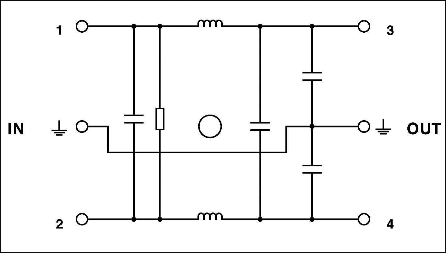 Odrušovací filter Phoenix Contact NEF 1-10 2788977, 240 V/AC, 10 A, 1.8 mH, (d x š x v) 79 x 40 x 93 mm, 1 ks