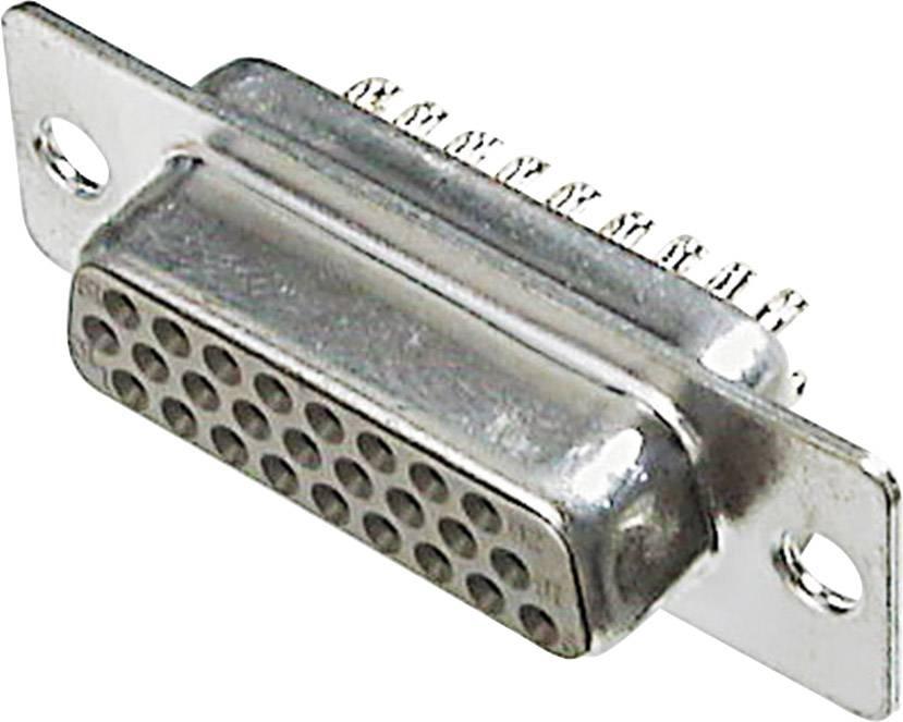 D-SUB zásuvková lišta ASSMANN WSW A-HDF 26 LL/Z, 180 °, počet pinov 26, spájkovaný, 1 ks