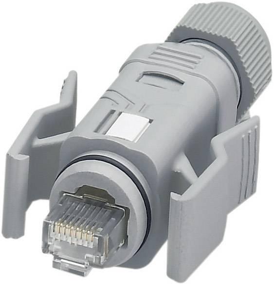 Dátový zástrčkový konektor pre senzory - aktory Phoenix Contact VS-08-RJ45-5-Q/IP67 1656990, 1 ks