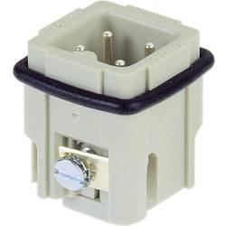 Vložka pinového konektora Harting Han® A 09 20 003 2611, 3 + PE, skrutkovací, 1 ks