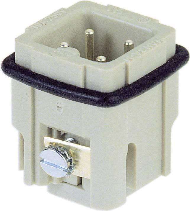 Vložka pinového konektoru Harting Han® A 09 20 003 2611, 3 + PE, šroubovací připojení, 1 ks