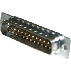 D-SUB kolíková lišta Amphenol 717SD A15P, 180 °, Počet pinov 15, spájkovaný, 1 ks