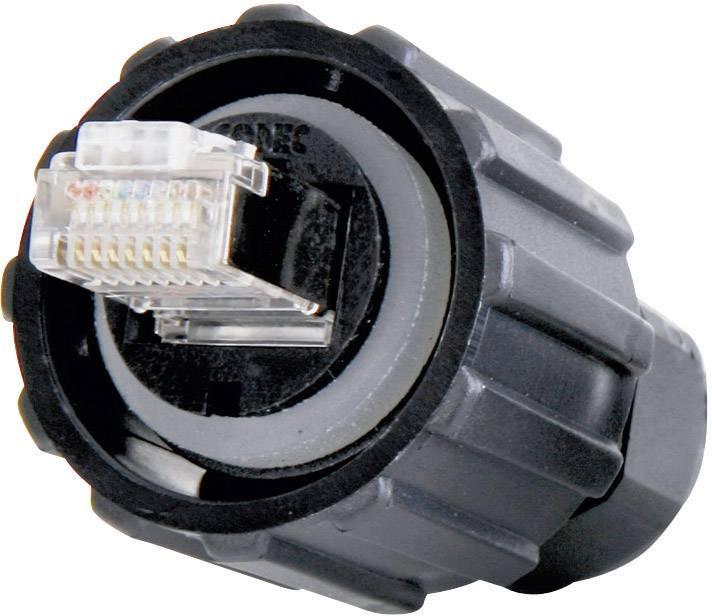 Dátový zástrčkový konektor pre senzory - aktory Conec 17-100464, 1 ks
