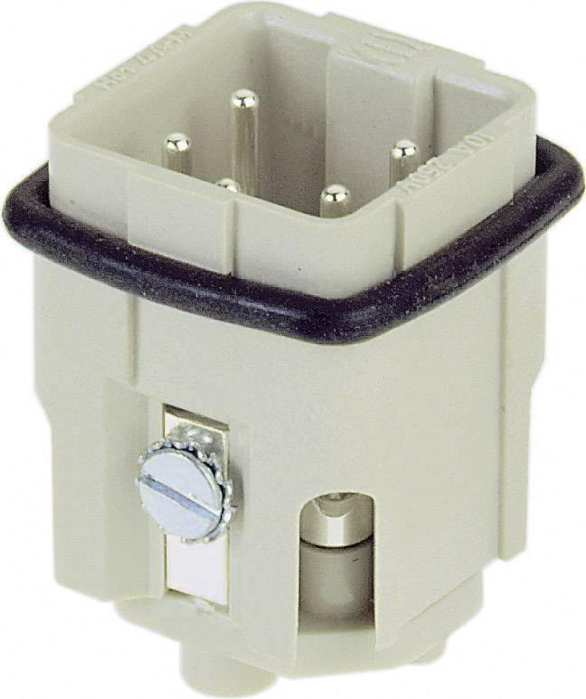 Vložka pinového konektoru Harting Han® A 09 20 004 2611, 4 + PE, šroubovací připojení, 1 ks
