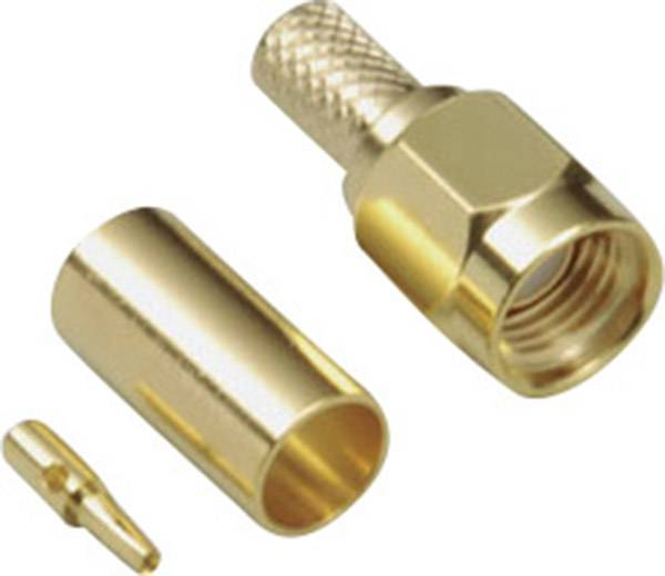 SMA reverzný konektor BKL 419004, 50 Ω, zástrčka