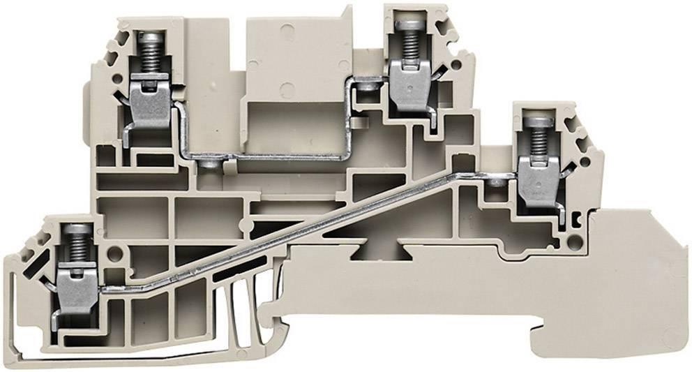 Řad. svorka do rozváděče Weidmüller WDL 2.5/L/L (1030300000), šedá