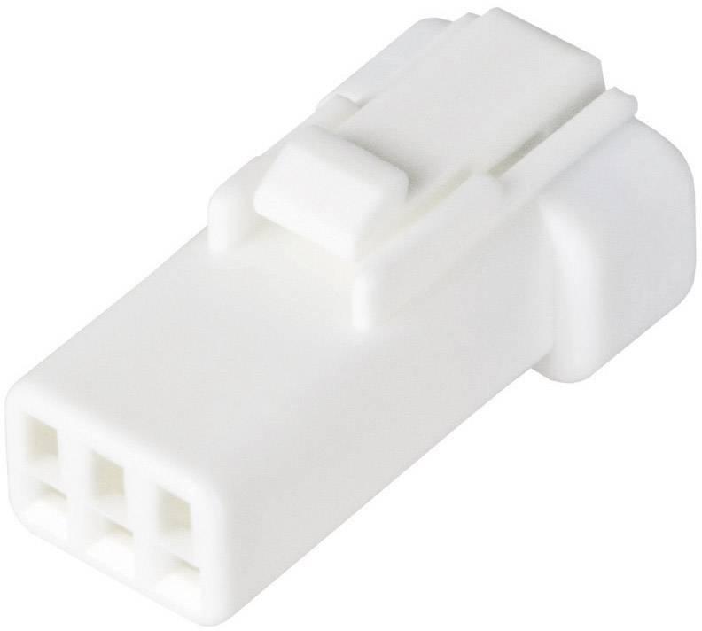 Zásuvkový konektor na kabel JST 03R-JWPF-VSLE-S 03R-JWPF-VSLE-S, 8.7 mm, pólů 3, 1 ks