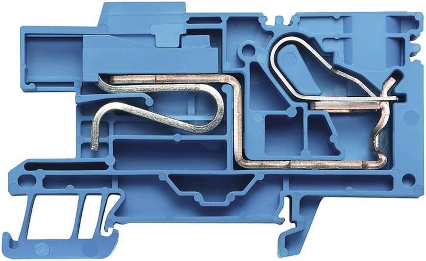 Svorkovnice Weidmüller PNT 16 (1896350000), 12,1 mm, modrá