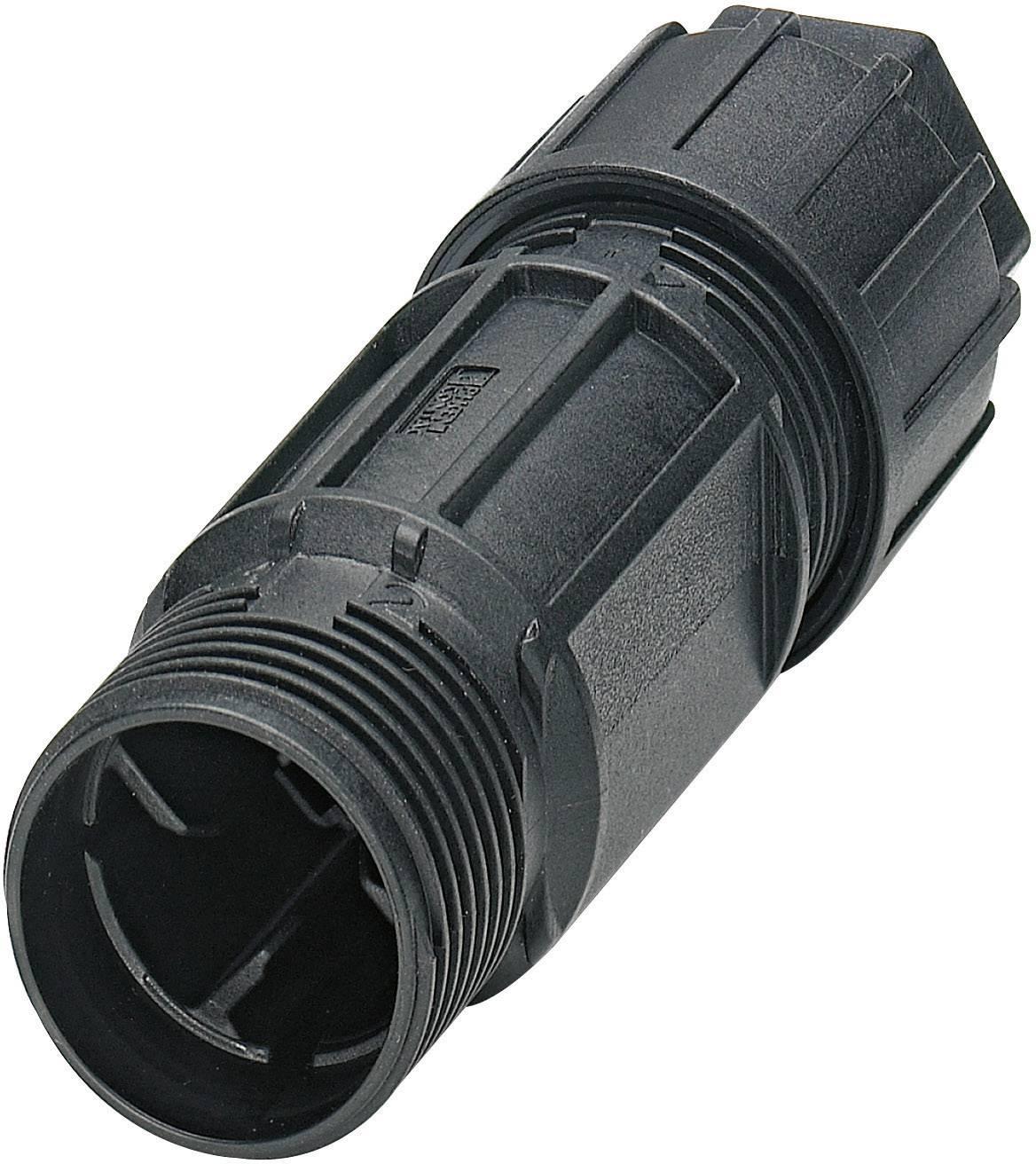 QUICKCON konektor Phoenix QPD C 3PE2,5 1X6-10 BK (1582220), 3 + PE , IP68