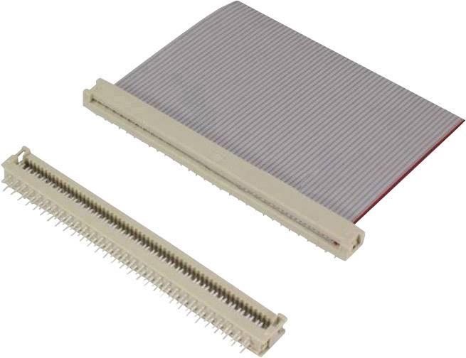 Pružinová lišta SEK 18 Harting, 09181149622, 14pól., 2,54 mm, 2 A, 1000 V/AC, šedá