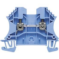 Průchozí svorka řadová Weidmüller WDU 4 BL (1020180000), 6,1 mm, modrá