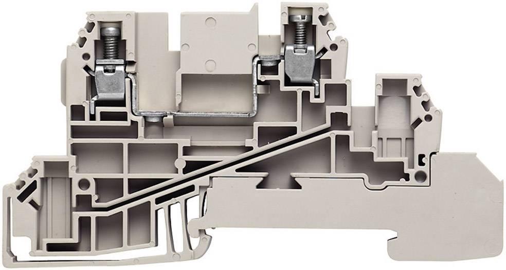 Řad. svorka do rozváděče Weidmüller WDL 2.5/L (1030400000), šedá