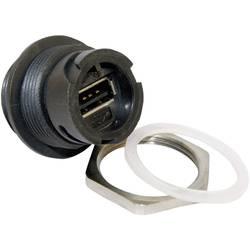 USB 2.0 zásuvka, vstavateľná Conec 17-200161 17-200161, 1 ks