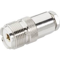 UHF konektor BKL 406082, 50 Ω, zásuvka rovná