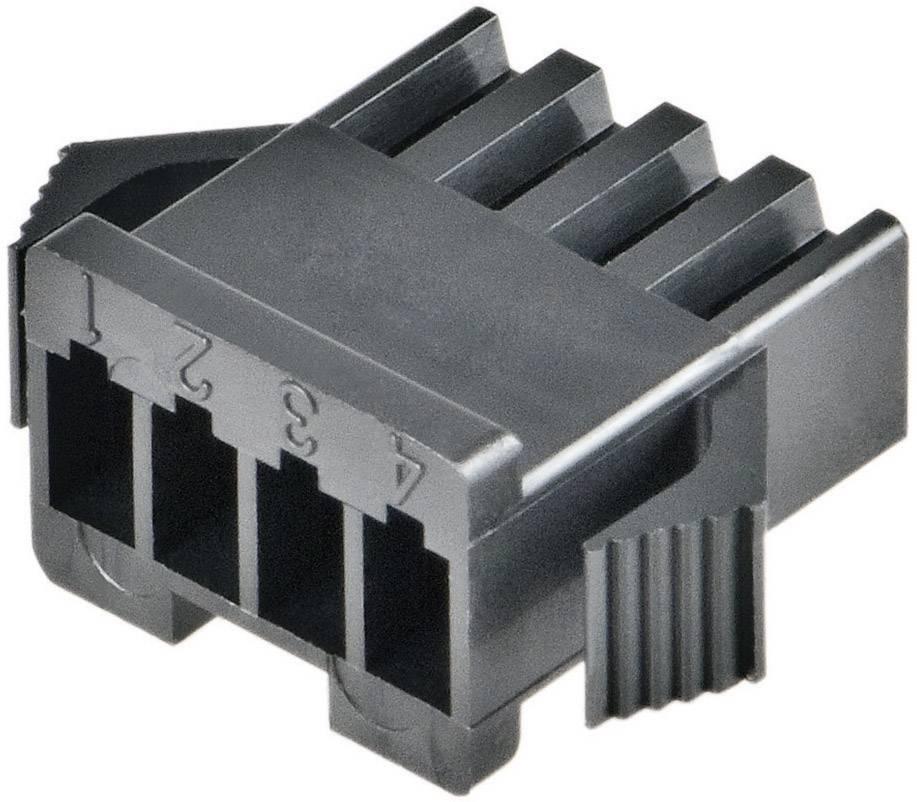 Zásuvkový konektor na kabel JST SMP-04V-BC SMP-04V-BC, 13 mm, pólů 4, rozteč 2.50 mm, 1 ks