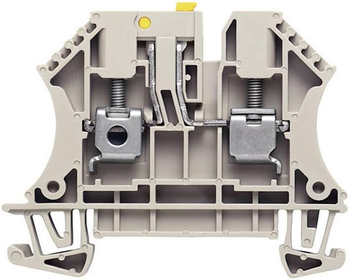 Oddělovací svorka řadová Weidmüller WTR 2.5 STB2.3 (1855620000), 5,1 mm, šedá