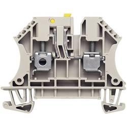 Oddělovací svorka řadová Weidmüller WTR 4 (7910180000), 6,1 mm, šedá