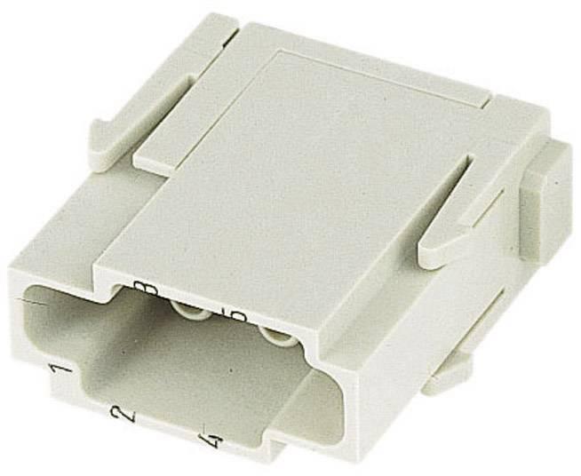 Vložka pinového konektoru Harting Han® C-Modul 09 14 006 3001, 6 + PE, krimpované připojení, 1 ks