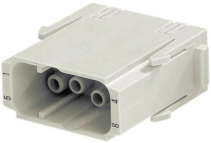 Vložka pinového konektoru Harting Han® C-Modul 09 14 008 3001, 8 + PE, krimpované připojení, 1 ks