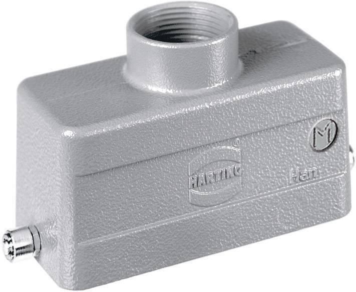 Pouzdro Harting Han® 16B-gg-R-M25, 19 30 016 1441, 10 ks