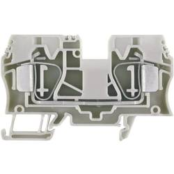 Průchozí svorka řadová Weidmüller ZDU 10 (1746750000), 10,1 mm, béžová