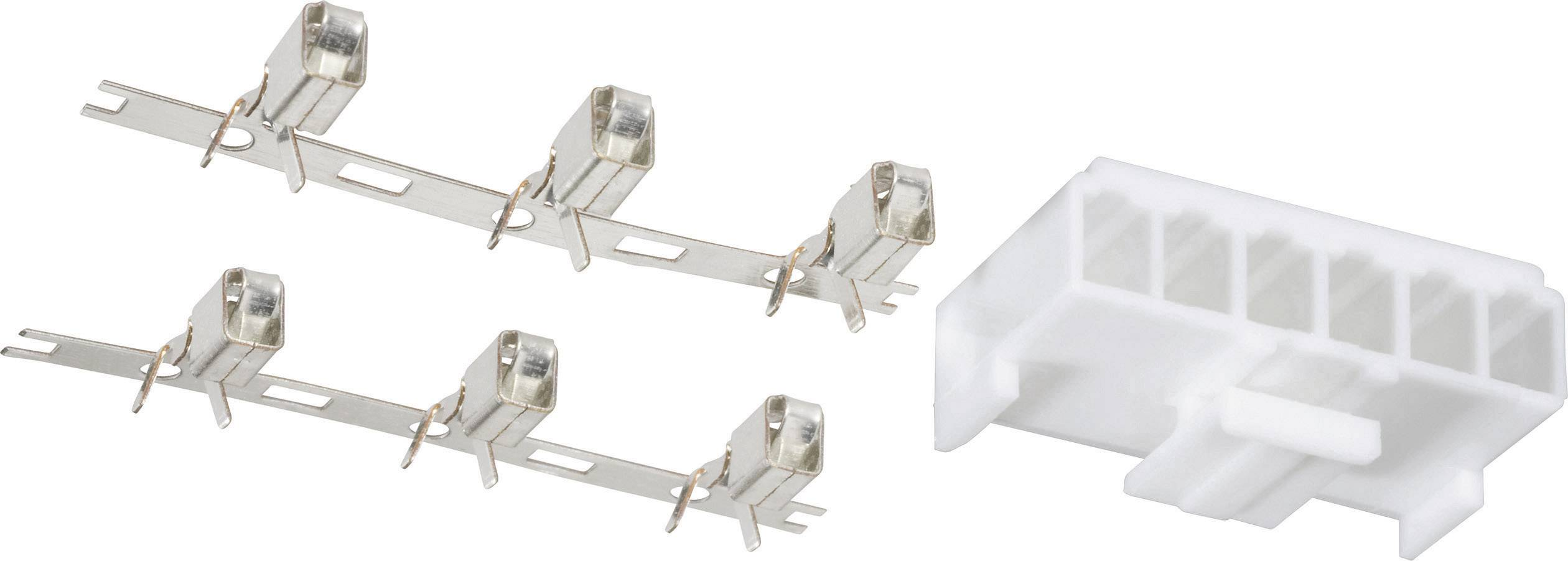 Napájecí PC konektor BAT konektor počet pólů=6 742660, 1 ks