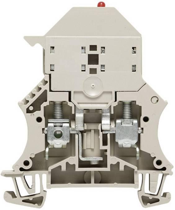 Jisticí svorka řadová Weidmüller WSI 6/LD 10-36V DC/AC (1011300000), 7,9 mm, šedá