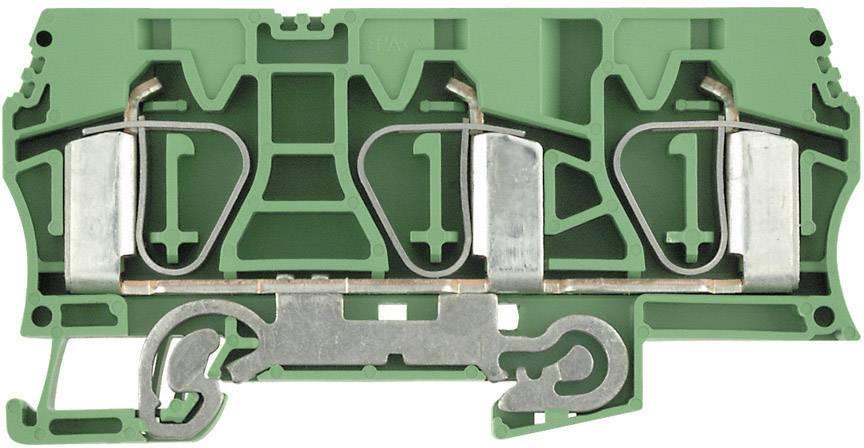 Svorka řadová s ochr. vodičem Weidmüller ZPE 16/3AN (1768310000), 12, 1 mm, zelenožlutá