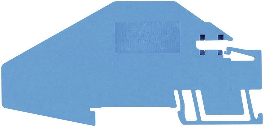 Nosič sběrnice Weidmüller PHP PDL (1837090000), modrá
