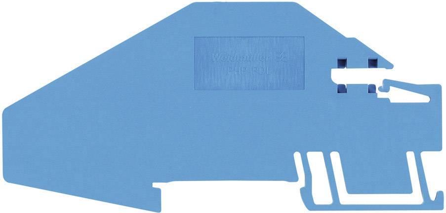 Nosič sběrnice Weidmüller PHP PNT16 (1896380000), modrá