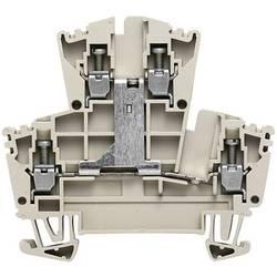 Dvojřadá svorka řadová Weidmüller WDK 2.5V (1022300000), 5,1 mm, šedá