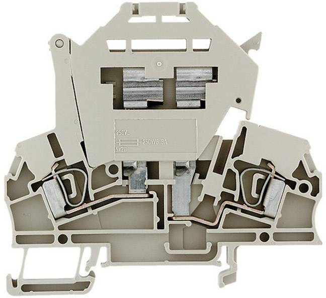Jisticí svorka řadová Weidmüller ZSI 2.5/LD 28AC (1616440000), 7,9 mm, béžová