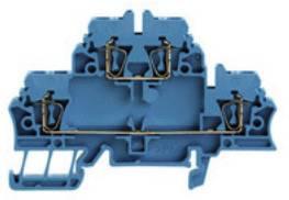 Průchozí řadová svorka Weidmüller ZDK 2.5 BL (1678630000), 5,1 mm, modrá