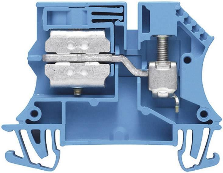 Svorkovnice Weidmüller WNT 2.5 10X3 (1010680000), 5,1 mm, modrá
