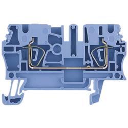 Průchozí svorka řadová Weidmüller ZDU 2.5 BL (1608520000), 5,1 mm, modrá