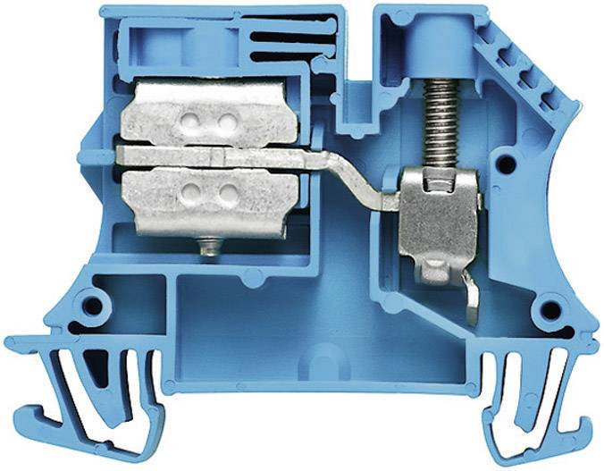 Svorkovnice Weidmüller WNT 35N 10X3 (1718550000), 16 mm, modrá