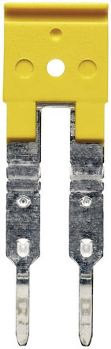 Křížová spojka Weidmüller ZQV 6N/2 (1906210000), signální žlutá
