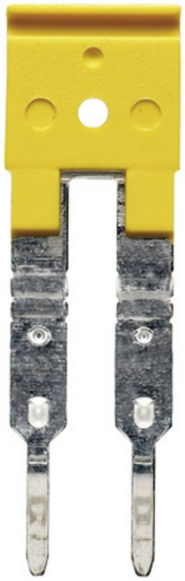 Křížová spojka Weidmüller ZQV 6N/3 (1906220000), žlutá