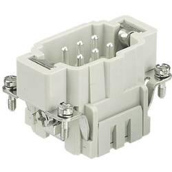 Vložka pinového konektora Harting Han® E 09 33 024 2616, 24 + PE, 1 ks