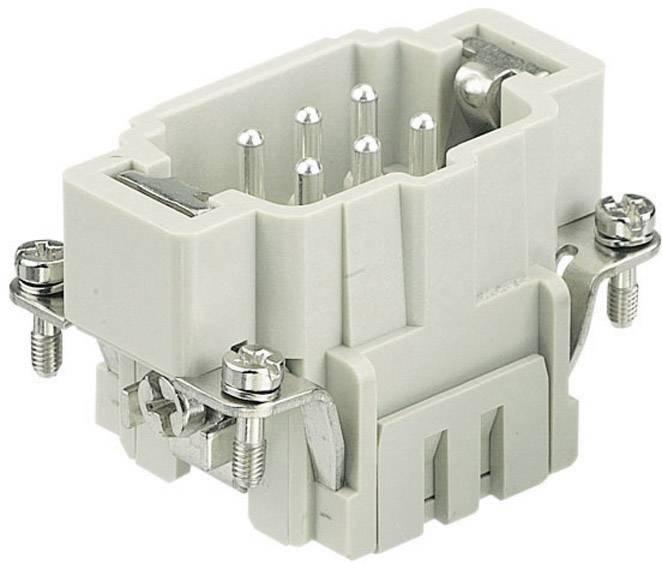 Vložka pinového konektoru Harting Han® E 09 33 024 2616, 24 + PE, klecová tažná pružina připojení, 1 ks